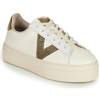 Shoes Women Low top trainers Victoria BARCELONA PIEL Beige