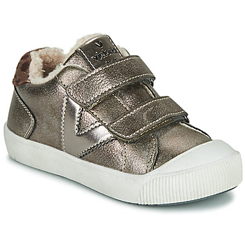 Shoes Girl Low top trainers Victoria HUELLAS  TIRAS Silver