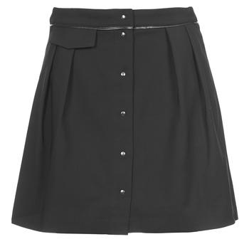 material Women Skirts Naf Naf ELORA Black