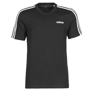 material Men short-sleeved t-shirts adidas Performance E 3S TEE Black