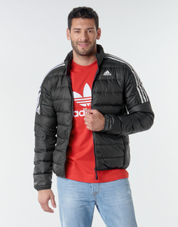 material Men Duffel coats adidas Performance ESS DOWN JACKET Black