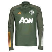 material Long sleeved shirts adidas Performance MUFC TR TOP Kaki