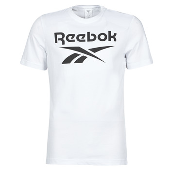 material Men short-sleeved t-shirts Reebok Classic RI BIG LOGO TEE White