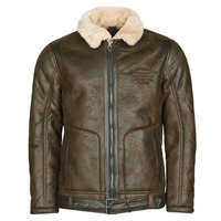 material Men Leather jackets / Imitation leather Petrol Industries JACKET IMITATION SHEARLING Brown