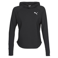 material Women sweaters Puma ACTIVE HOODY Black