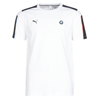 material Men short-sleeved t-shirts Puma BMW MMS MS T7 TEE White