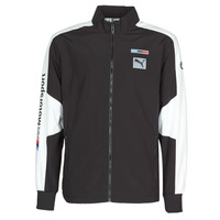 material Men Jackets Puma BMW MMS WVN JACKET F Black / Grey / White