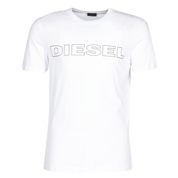 material Men short-sleeved t-shirts Diesel JAKE White