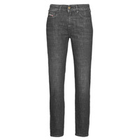 material Women straight jeans Diesel D-JOY  Grey