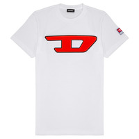 material Children short-sleeved t-shirts Diesel TJUSTDIVISION White