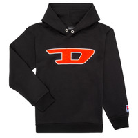 material Children sweaters Diesel SDIVISION Black