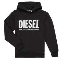 material Boy sweaters Diesel SDIVISION LOGO Black