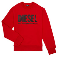 material Boy sweaters Diesel SCREWDIVISION LOGO Red