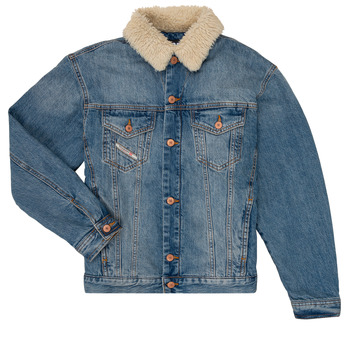 material Boy Denim jackets Diesel JRESKY Blue
