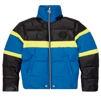 material Boy Duffel coats Diesel JMARTOS Black / Blue / Yellow