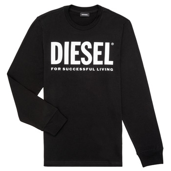 material Boy Long sleeved shirts Diesel TJUSTLOGO ML Black