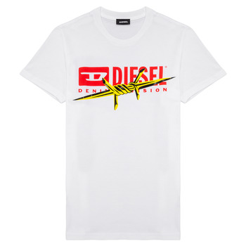 material Boy short-sleeved t-shirts Diesel TDIEGOBX2 White