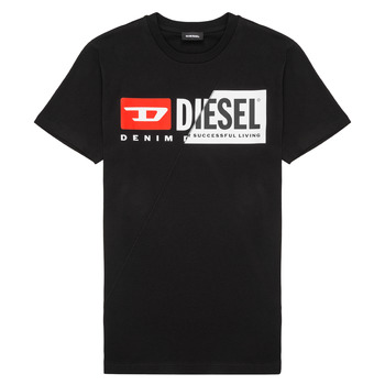 material Children short-sleeved t-shirts Diesel TDIEGOCUTY Black