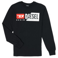 material Children Long sleeved shirts Diesel TDIEGOCUTY Black