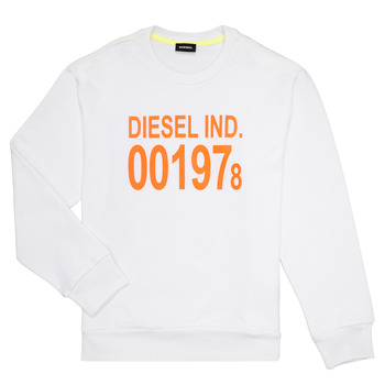 material Children sweaters Diesel SGIRKJ3 White