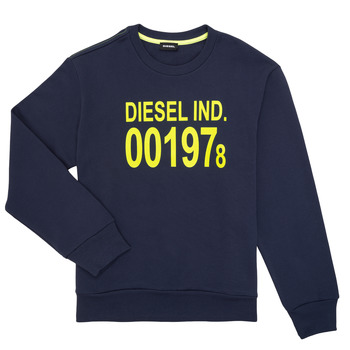 material Children sweaters Diesel SGIRKJ3 Blue