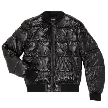 material Children Duffel coats Diesel JONY Black