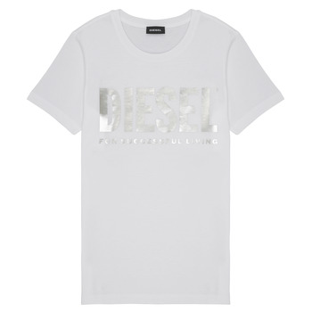 material Girl short-sleeved t-shirts Diesel TSILYWX White