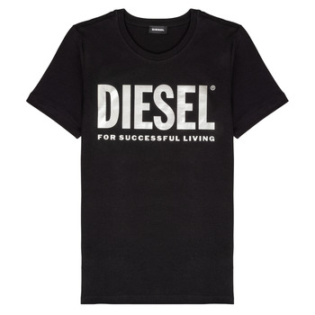 material Girl short-sleeved t-shirts Diesel TSILYWX Black
