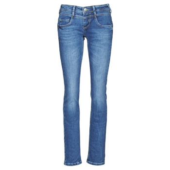 material Women straight jeans Freeman T.Porter CATHYA SDM Blue