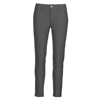 material Women 5-pocket trousers Freeman T.Porter CLAUDIA POLYNEO Grey