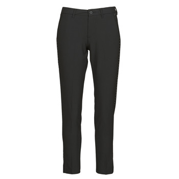 material Women 5-pocket trousers Freeman T.Porter ADELIE POLYNEP Black