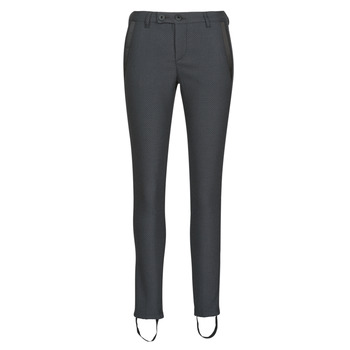 material Women 5-pocket trousers Freeman T.Porter TESSA COLISH Grey