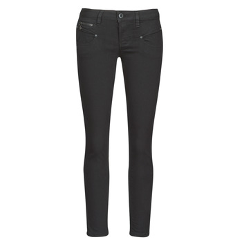 material Women 5-pocket trousers Freeman T.Porter ALEXA CROPPED S-SDM Black