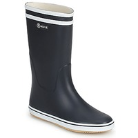 Shoes Women Wellington boots Aigle MALOUINE MARINE / White