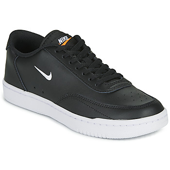 Shoes Women Low top trainers Nike COURT VINTAGE Black / White