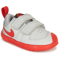 Shoes Boy Low top trainers Nike PICO 5 TD Grey / Red