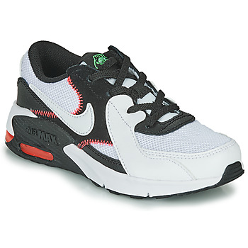 Shoes Boy Low top trainers Nike AIR MAX EXCEE PS Black / White