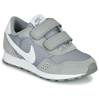 Shoes Children Low top trainers Nike MD VALIANT PS Grey / White