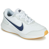 Shoes Boy Low top trainers Nike VARSITY LEATHER GS White / Blue
