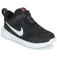 Shoes Children Low top trainers Nike REVOLUTION 5 MTF TD Black / White