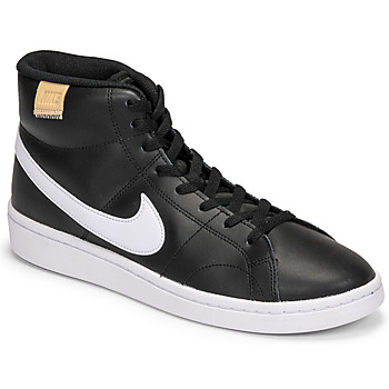 Shoes Men Low top trainers Nike COURT ROYALE 2 MID Black / White