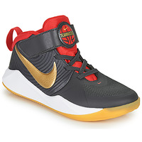 Shoes Children Basketball shoes Nike TEAM HUSTLE D 9 PS Grey / Gold