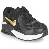 Shoes Children Low top trainers Nike AIR MAX EXCEE TD Black / Gold