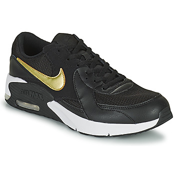 Shoes Children Low top trainers Nike AIR MAX EXCEE GS Black / Gold