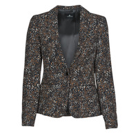 material Women Jackets / Blazers One Step FR40091 Black