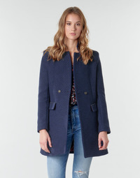 material Women coats One Step FR44051 Marine