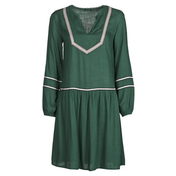 material Women Short Dresses One Step FR30231 Green