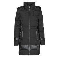 material Women Duffel coats One Step FR44181_02 Black