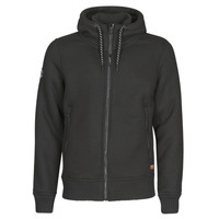 material Men Blouses Superdry EXPEDITION ZIP THRU Black