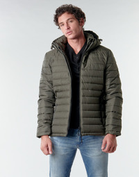 material Men Duffel coats Superdry HOODED FUJI JACKET Kaki